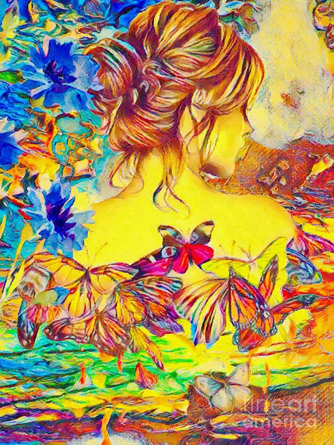 Butterflies - Painted Poetry by Olga Hamilton