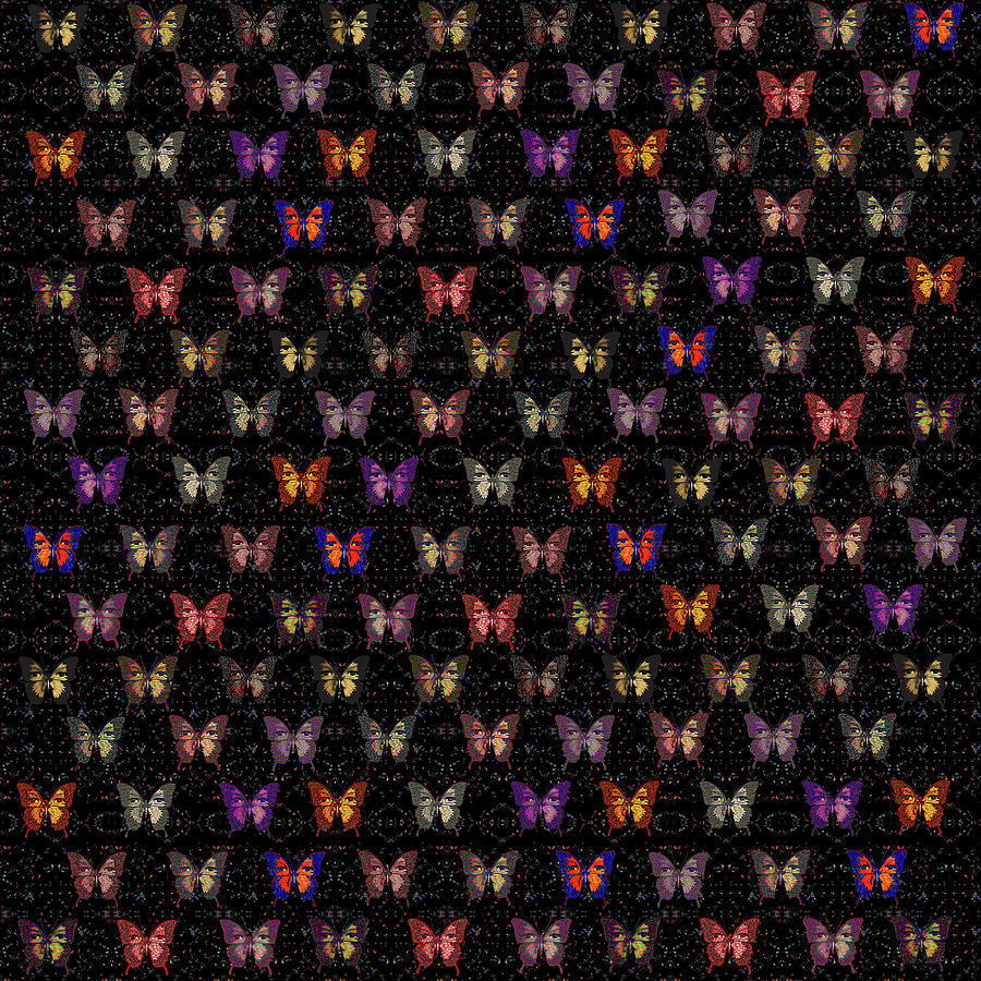 Butterflies Variation 02 by Diego Taborda