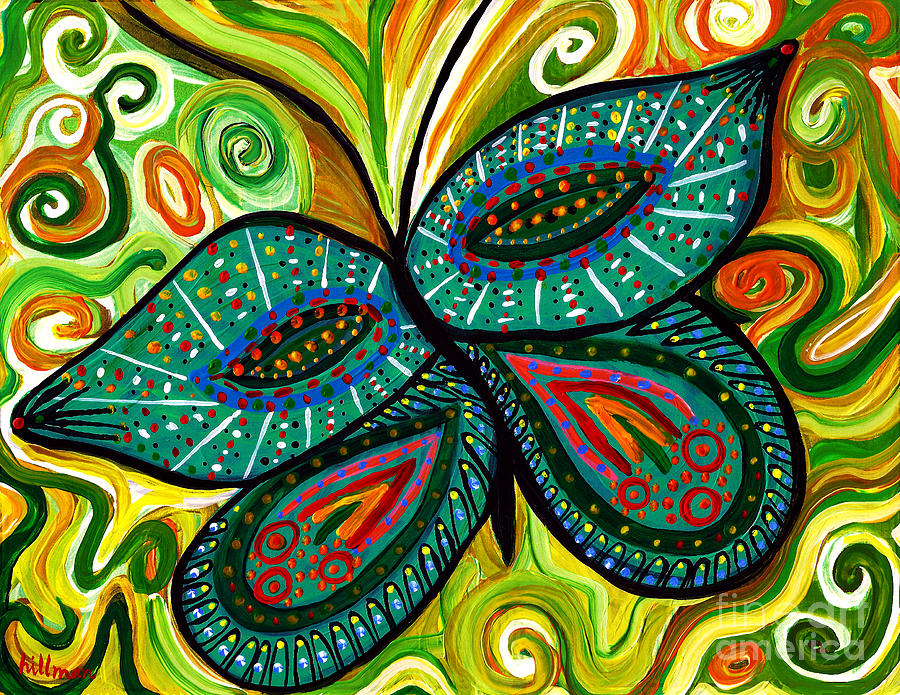 Butterfly 1 by A Hillman