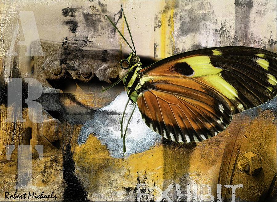 Butterfly Art Exhibit by Robert Michaels