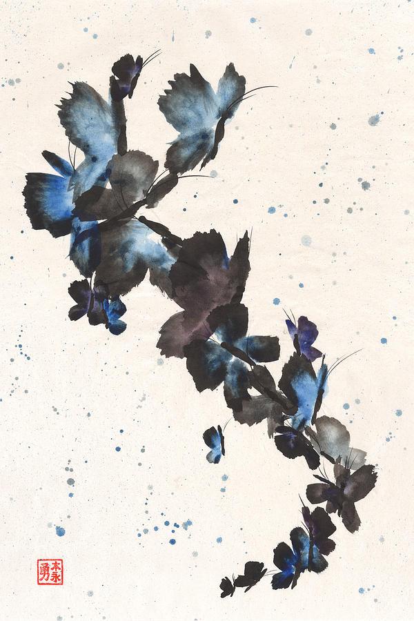 Butterfly Frenzy by Derek Motonaga