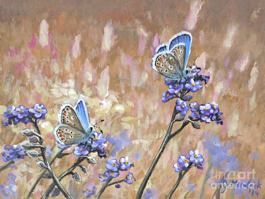 Butterfly Meadow - Part 3 by Joe Mandrick