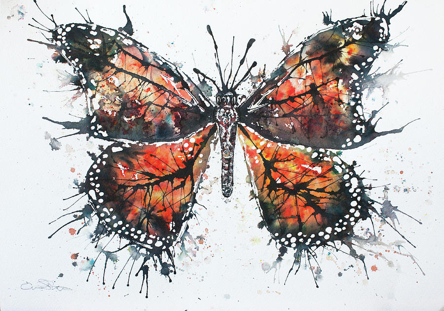Butterfly Study I Painting