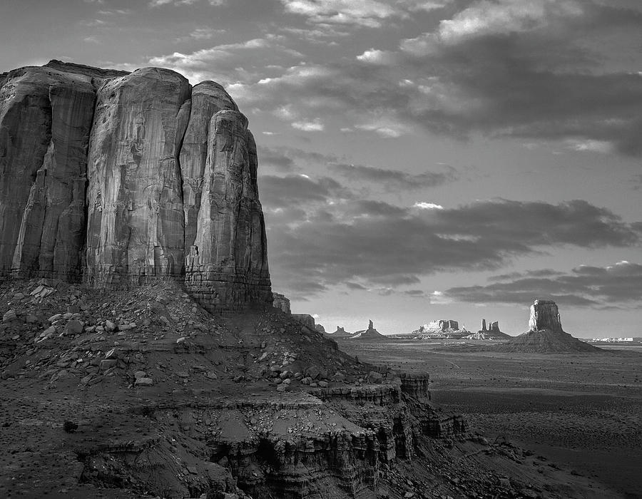 Buttes, Monument Valley Photograph by Tim Fitzharris