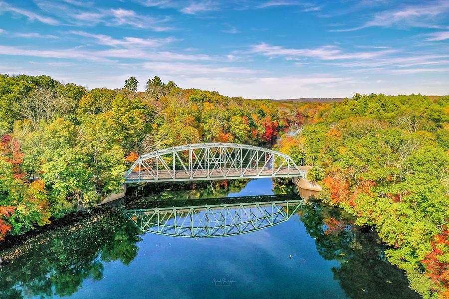 Butts Bridge Autumn by Michael Hughes