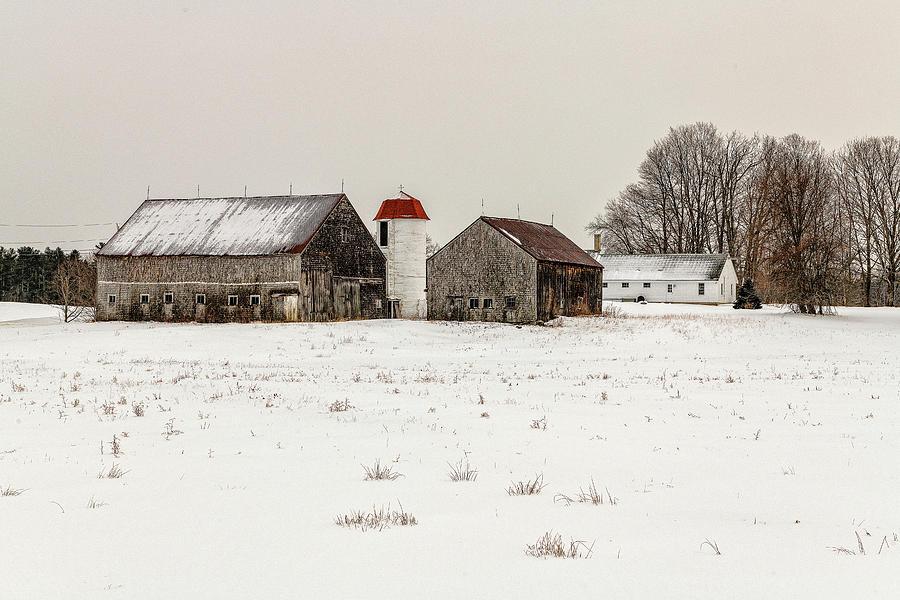 Buxton Photograph - Buxton, Maine by Bob Doucette