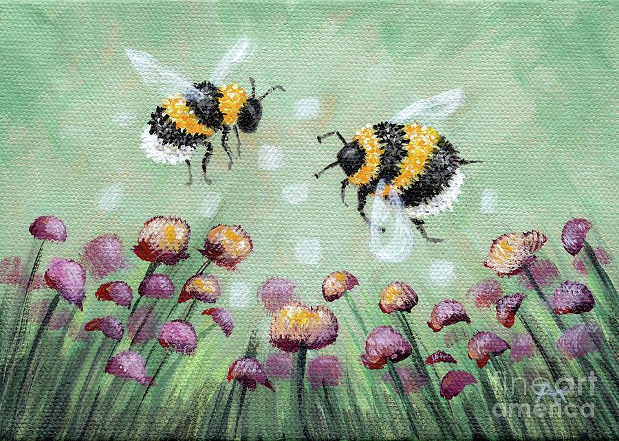 Buzzing Clover by Annie Troe