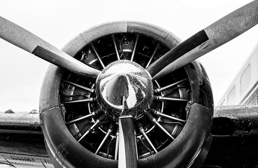 BW Propeller on Wing by Keith Smith