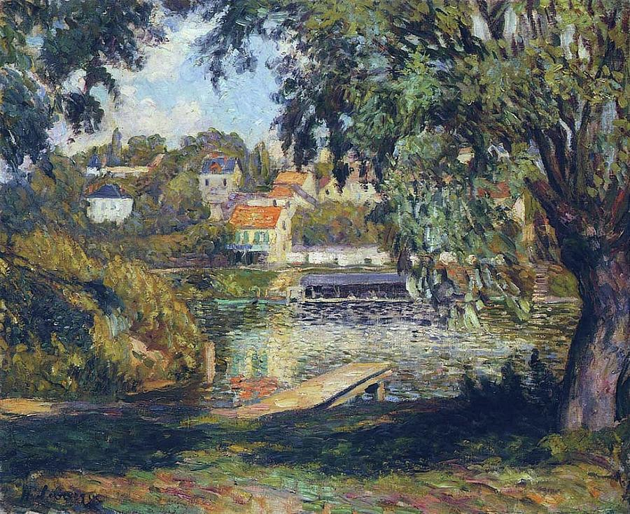 By The River, 1900 Painting