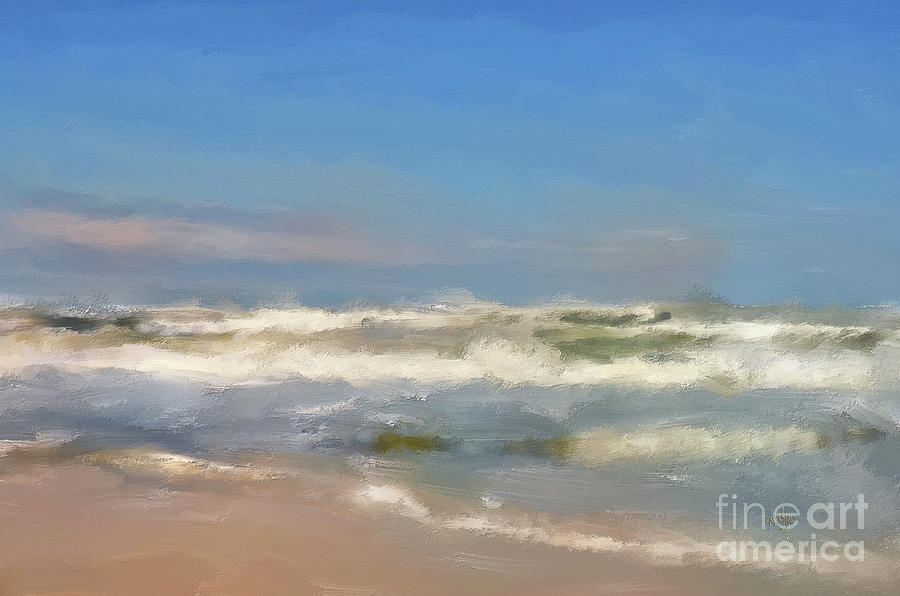 By The Sea Under Blue Skies by Lois Bryan