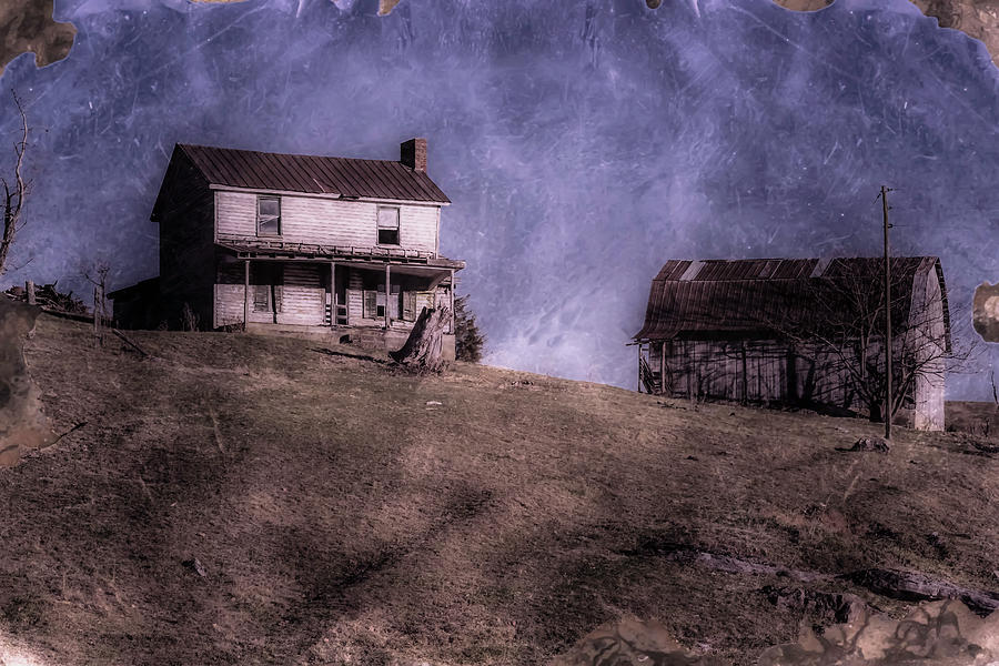Farm Photograph - Bygone Dreams by Jim Love