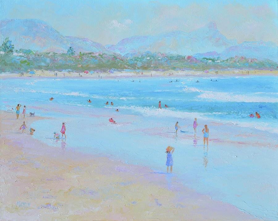 Byron Bay Beach Impression by Jan Matson