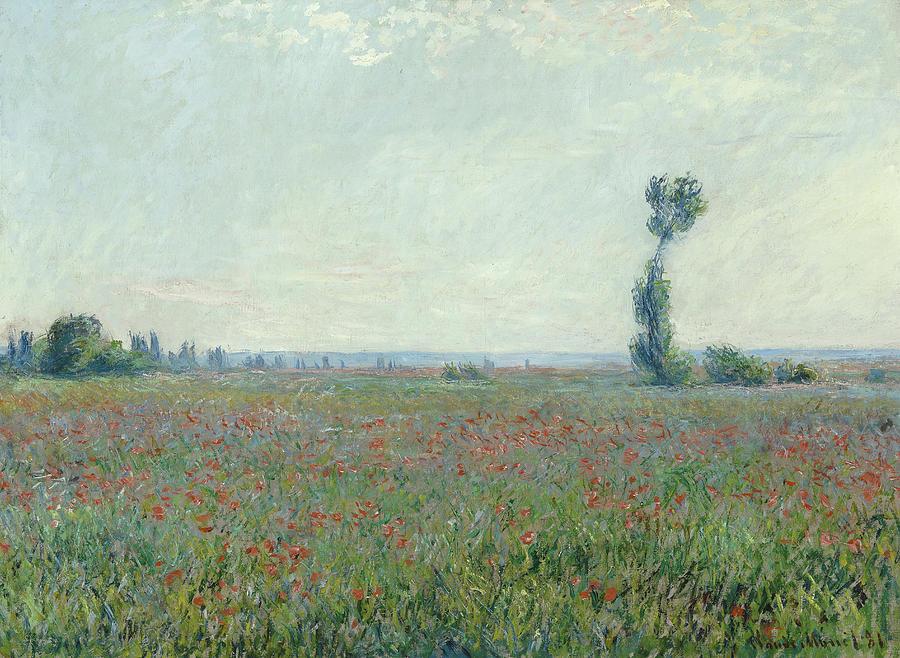 C. Monet, Poppy Field, 1881 by AKG Images