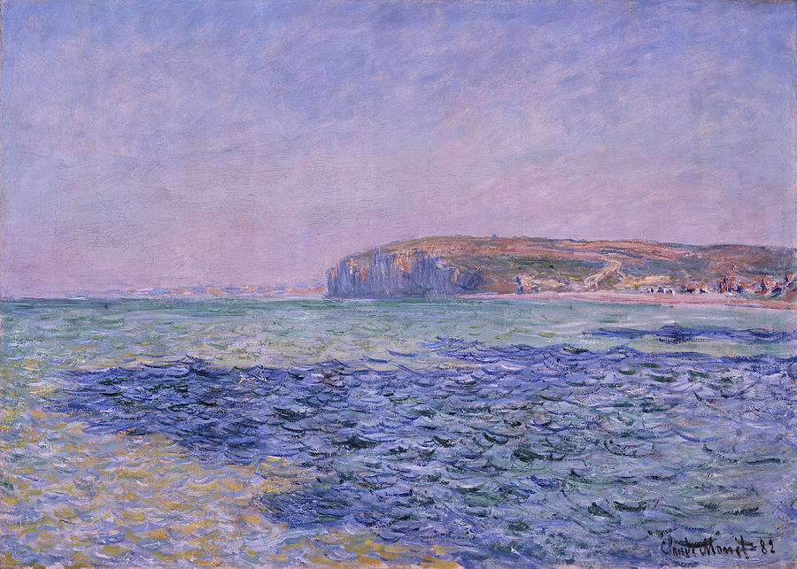C. Monet, Shadows On The Sea by AKG Images