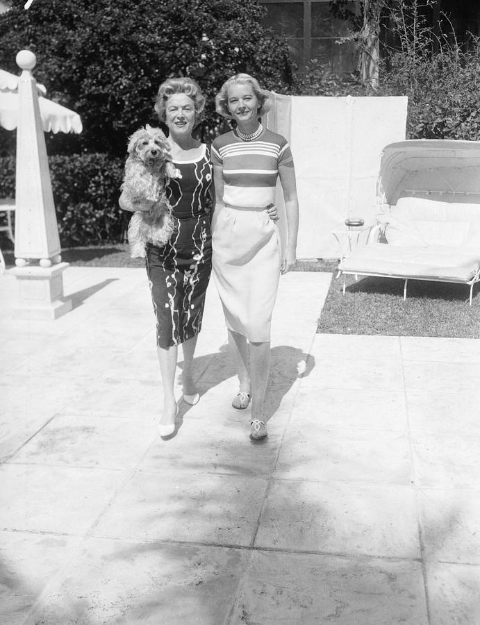 C. Z. Guest & Mrs. Stephen Sanford Photograph by Bert Morgan