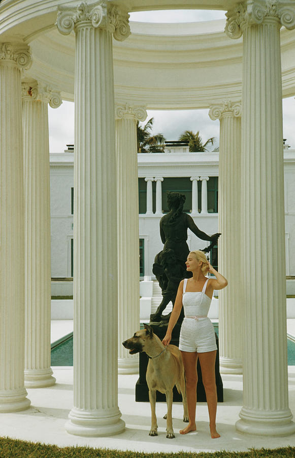 C. Z. Guest Photograph by Slim Aarons