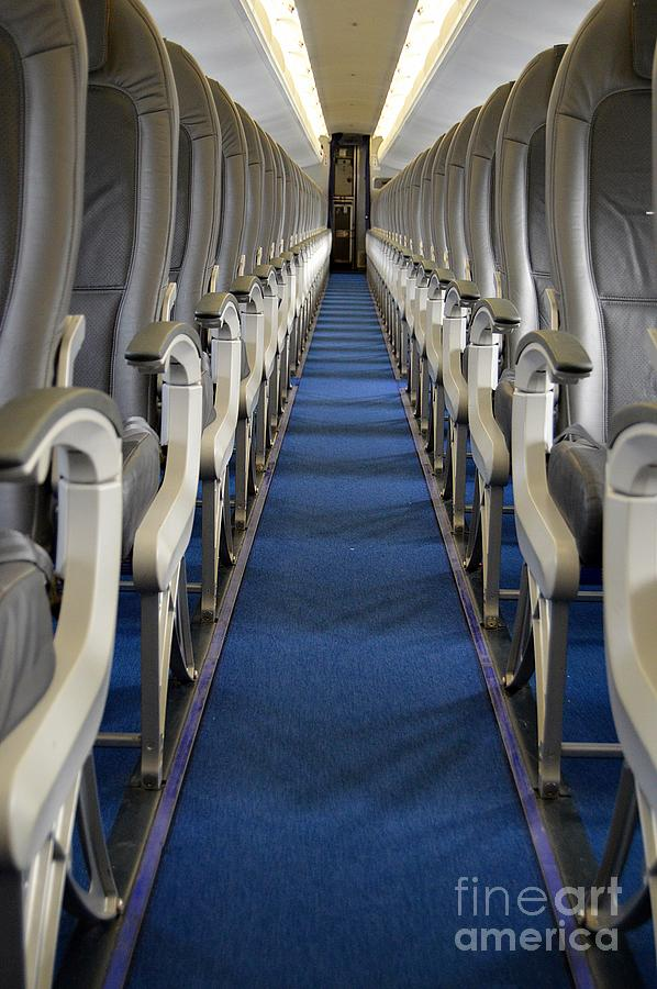 Cabin Aisle by Thomas Schroeder