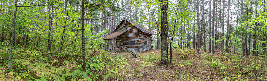 Cabin in the Forest by Pierre Leclerc Photography