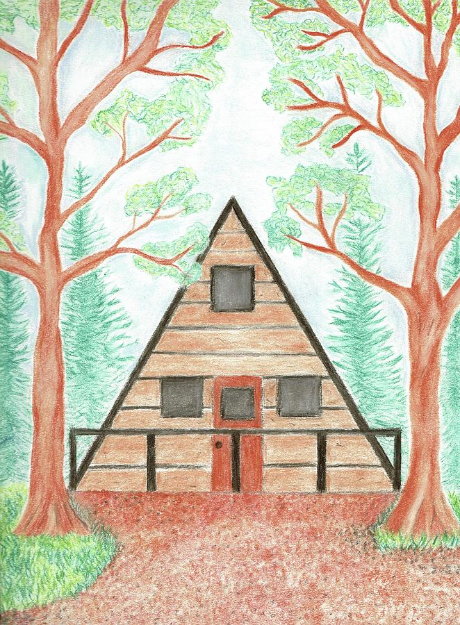Cabin in the Woods by Sarah Warman