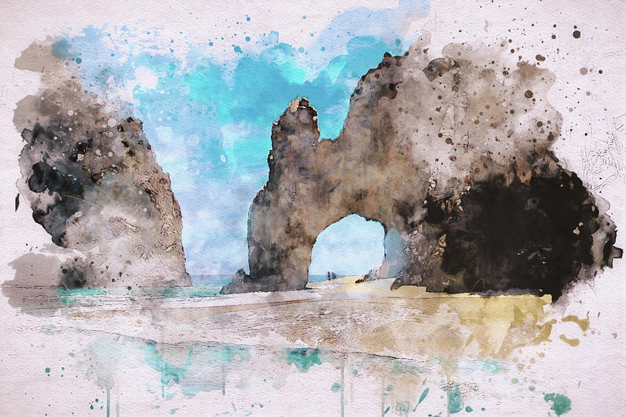 El Arco de Cabo  by Marilyn Wilson