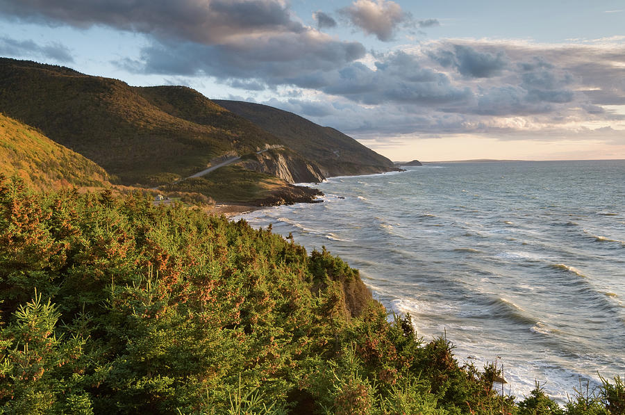 Cabot Trail Scenic Photograph by Shayes17