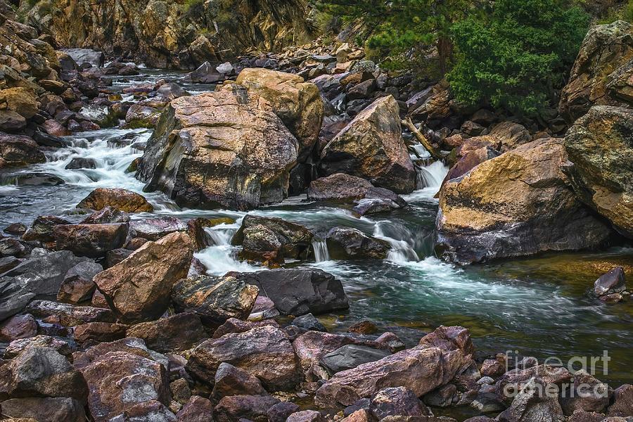 Cache La Poudre Rapids by Jon Burch Photography