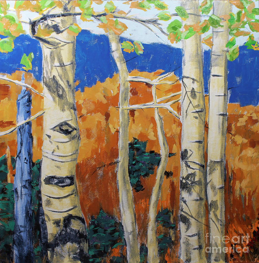 Aspen Painting - Cachuras Pass by Hilton McLaurin