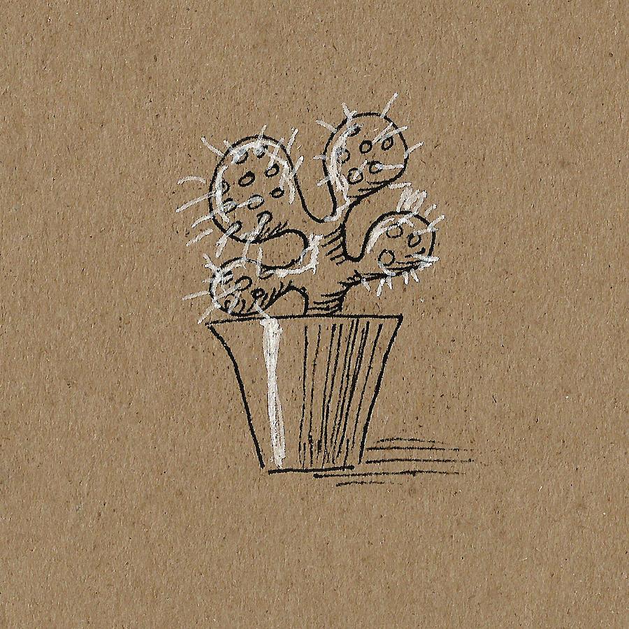 Cactus 1 by Masha Batkova
