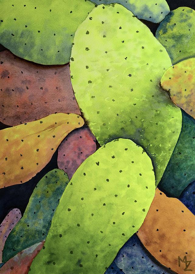 Cactus Fantasy by Margaret Zabor