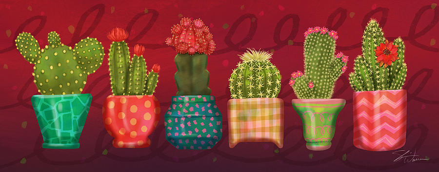 Cactus Friends by Shari Warren