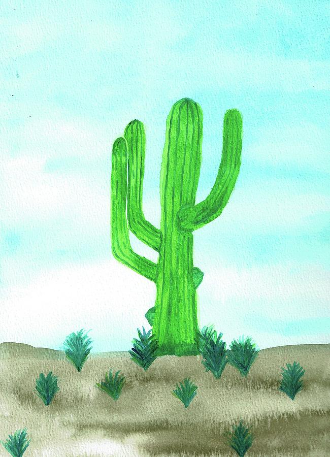 Cactus by Sarah Warman