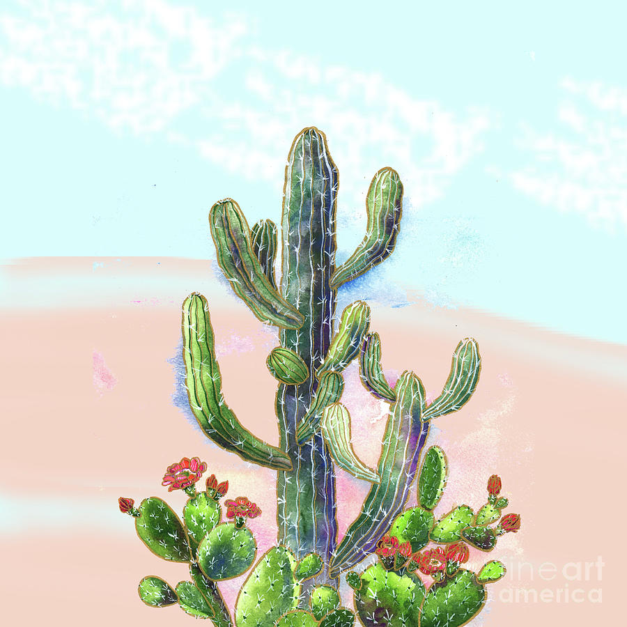 Cactus by Shelley Wallace Ylst