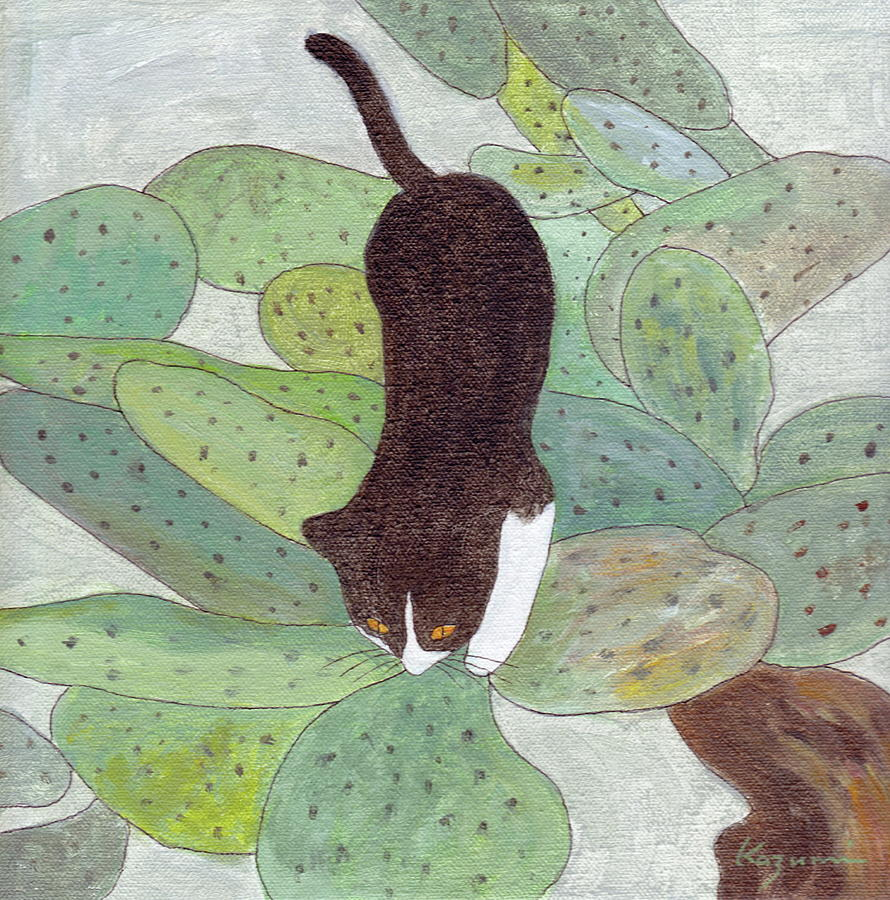 Cactus Tree by Kazumi Whitemoon