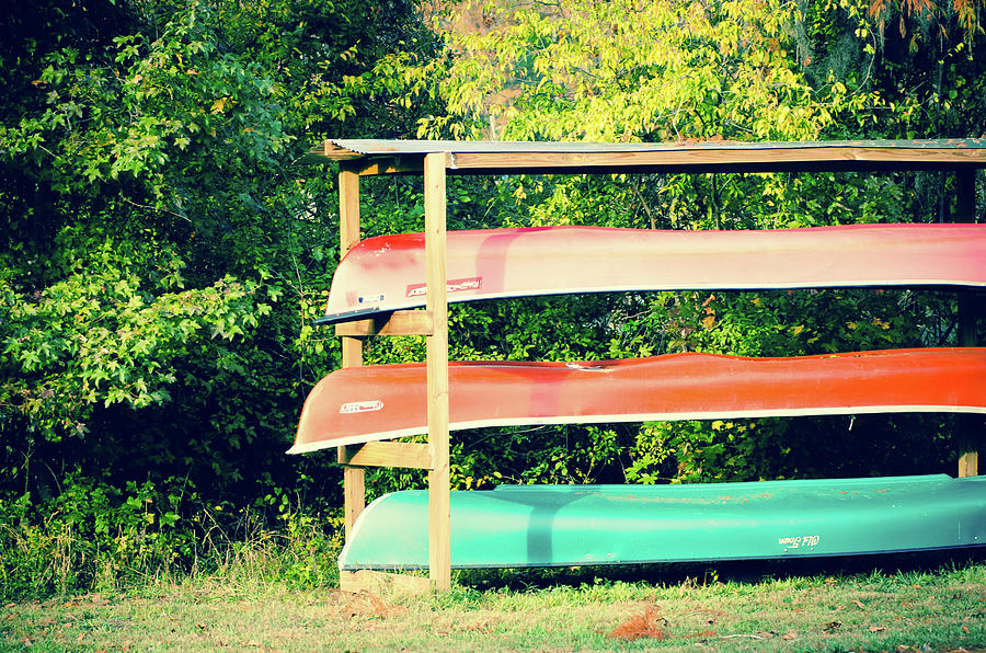 Caddo Lake Canoes by Sonja Quintero