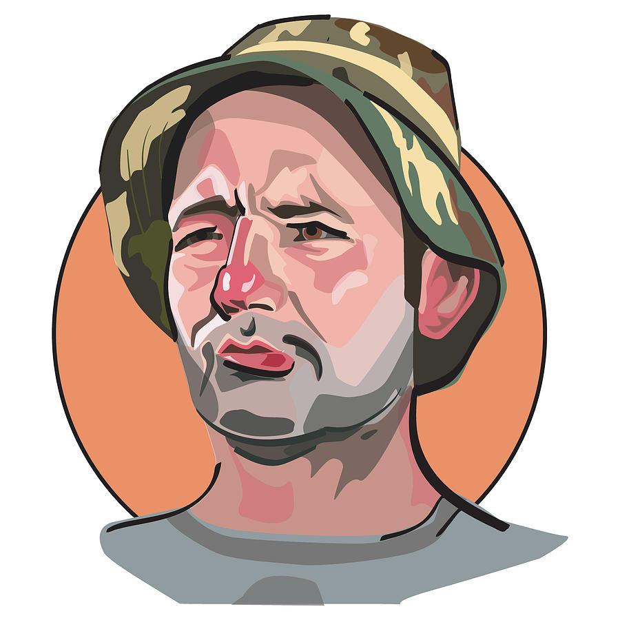 Caddyshack Bill Murray by Matt Hood