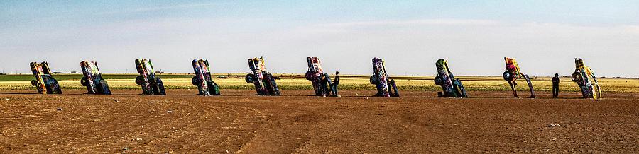 Cadillac Ranch  by Jeff Folger