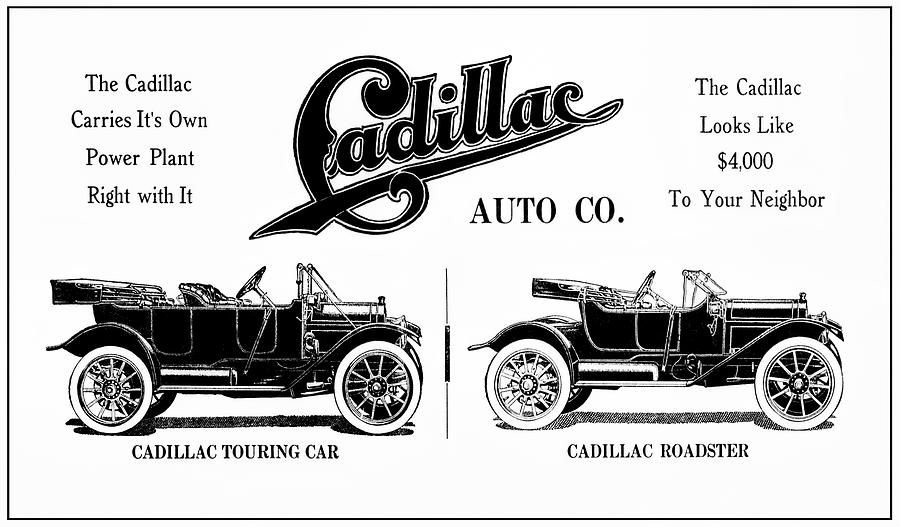 CADILLAC ROADSTER and TOURING CARS 1912 by Daniel Hagerman