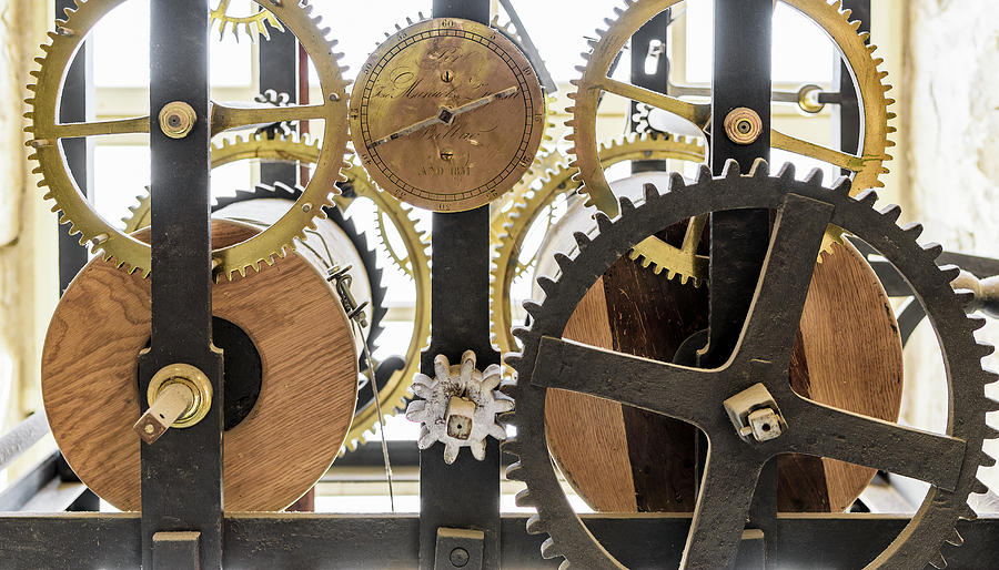Cadiz Cathedral Clockworks by Steven Sparks