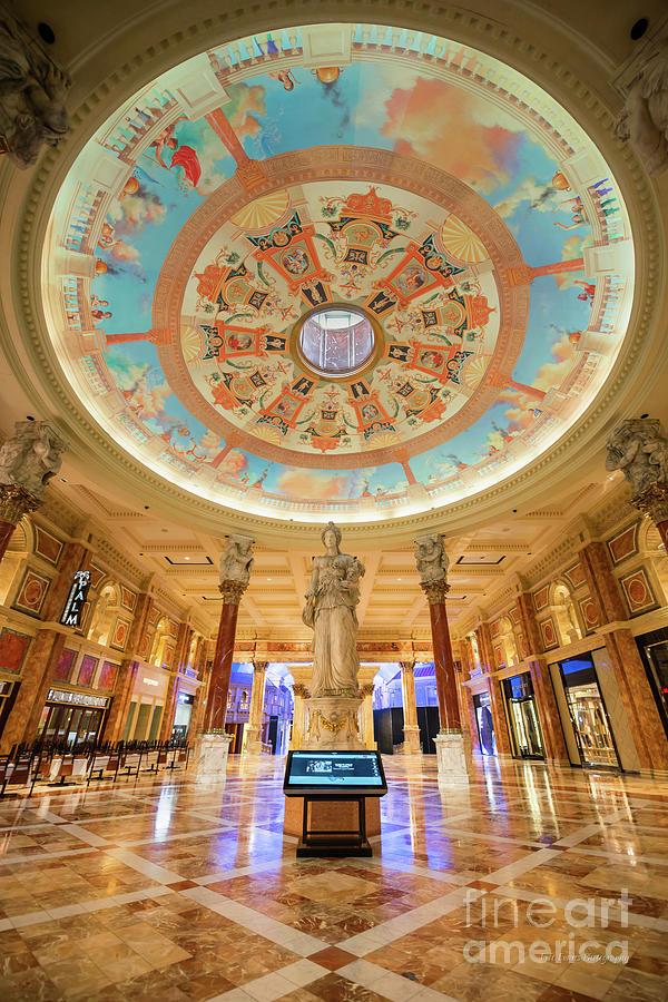 Caesars Palace Forum Shops Grand Entrance by Aloha Art