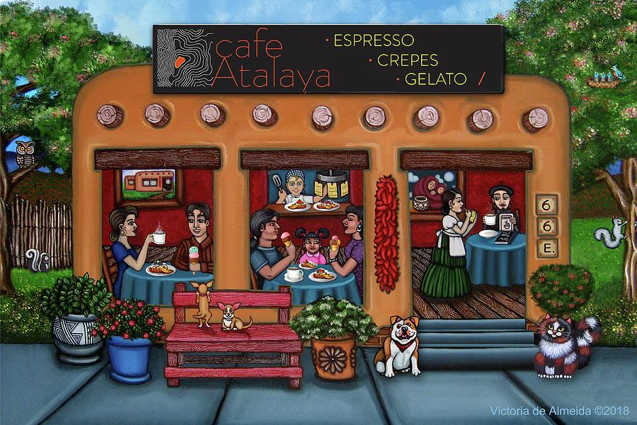 Cafe Atalaya Santa Fe by Victoria de Almeida