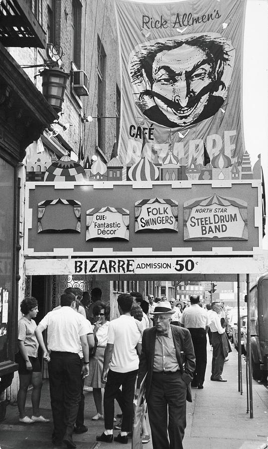 Cafe Bizarre, 1959 Photograph by Fred W. McDarrah