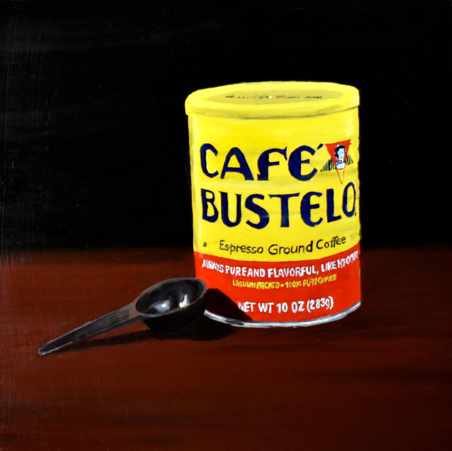 Coffee Painting - Cafe Bustelo by Emily Warren
