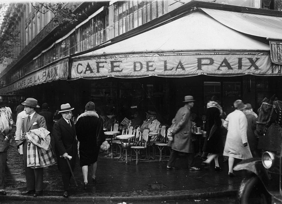 Cafe De La Paix Photograph by Fpg