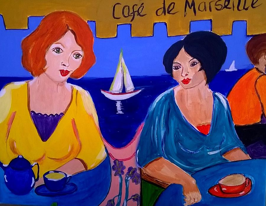 Cafe de Marseille by Rusty Gladdish