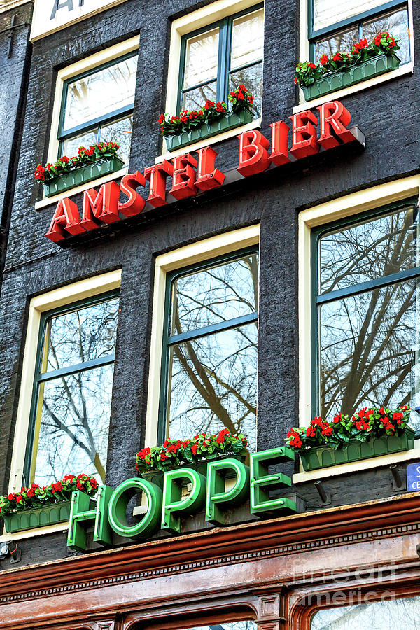 Cafe Hoppe in Amsterdam by John Rizzuto