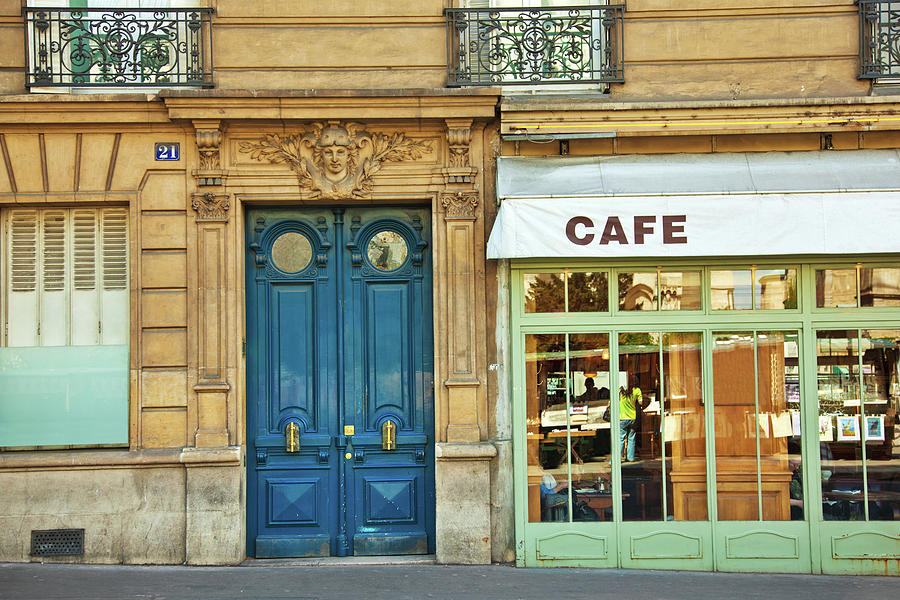 Cafe In Paris Photograph by Nikada