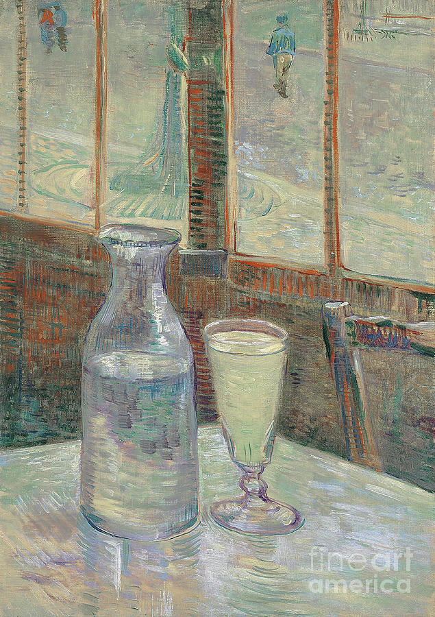 Cafe Table, 1887 by Van Gogh