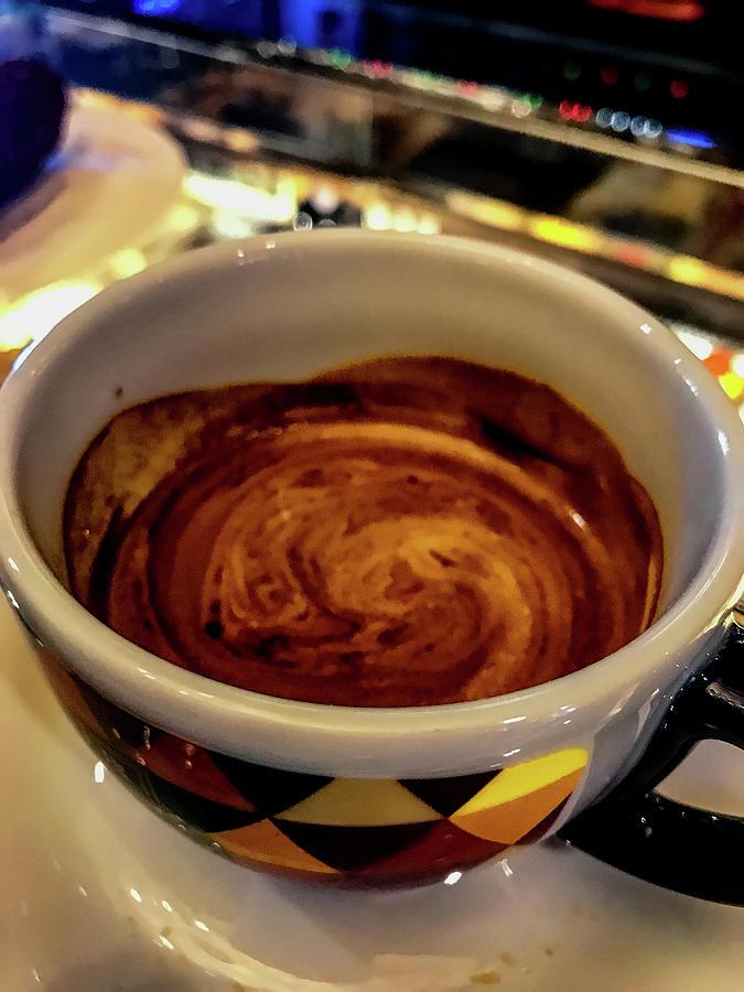 Americano Photograph - Caffe Doppio by Joseph Yarbrough