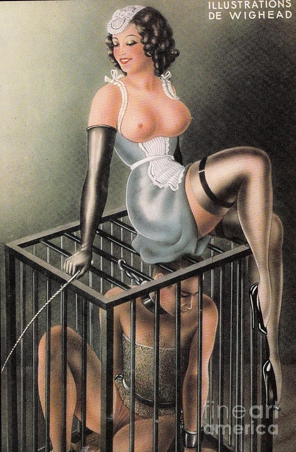 Caged by the Mistress by Wighead