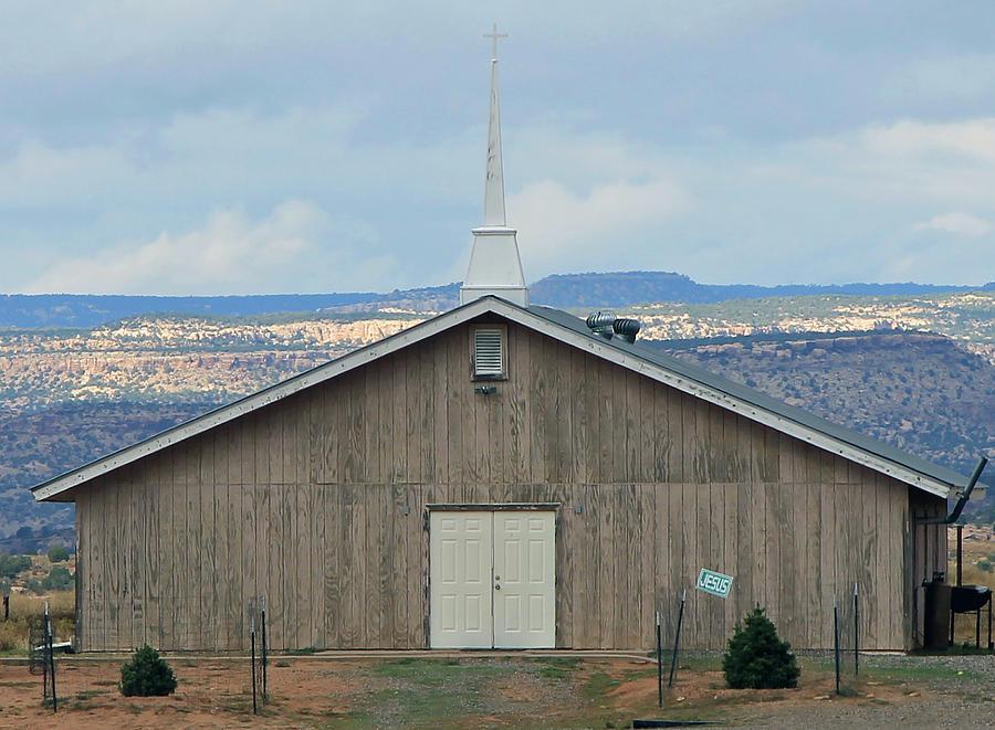 Cahone Mesa Church by Jonathan Thompson